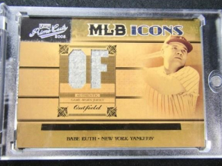 Babe Ruth Jersey Baseball Card