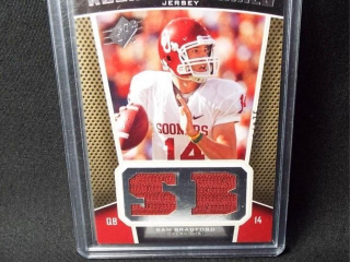 Football Sam Bradford Jersey Card