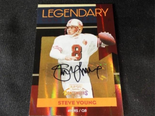 Football Steve Young Signed Card