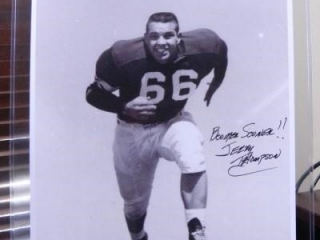 "Jerry Thompson; Black & White Photo; 16"" x 20"""