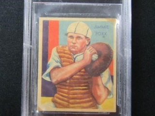 Jimmie Foxx Baseball Card