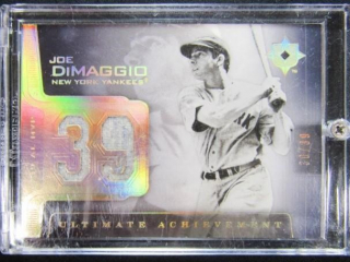 Joe DiMaggio Baseball Card