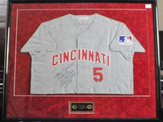 Johnny Bench Signed Jersey