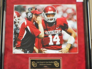 Josh Heupel, Sam Bradford Signed Photo