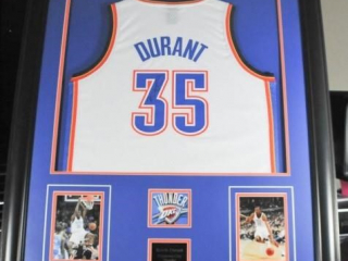 Kevin Durant Autographed Jersey