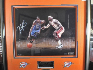 Kevin Durant Autographed Photo