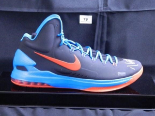 Kevin Durant; OKC Thunder Basketball Shoe