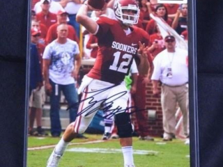 Landry Jones #12 Oklahoma Sooner Photograph