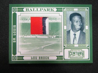 Lou Brock Baseball Card