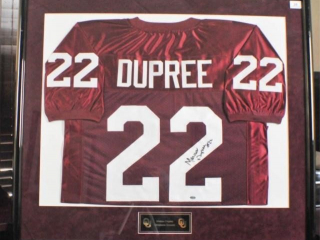 Marcus Dupree Signed Jersey