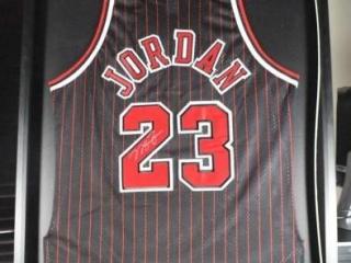 Michael Jordan Signed Jersey #23
