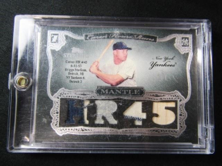 Mickey Mantle Baseball Card