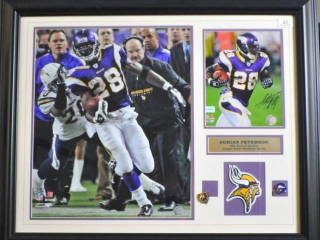 Minnesota Vikings Signed Print