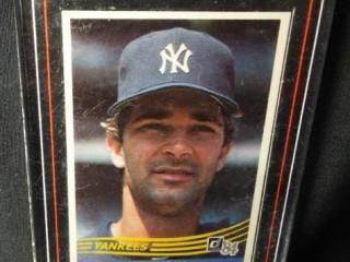 Baseball Don Mattingly Card