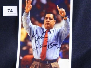 Oklahoma Head Coach Kelvin Sampson; Signed
