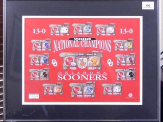 Oklahoma Sooners 2000 National Champions