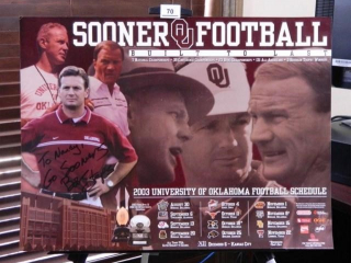 Oklahoma University 2003 Football Schedule