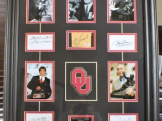 OU Heisman Photos & Signatures