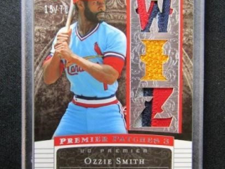 Ozzie Smith Baseball Card