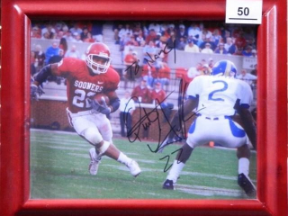 Quentin Griffin; #22 Oklahoma Sooners; Photo