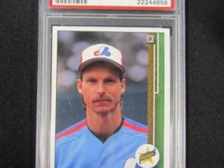 Randy Johnson Rookie Baseball Card