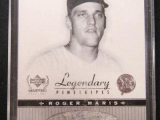 Roger Maris Baseball Card