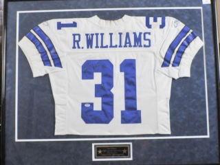 Roy Williams 2005 Game Worn Signed Jersey