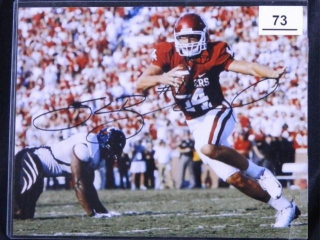 Sam Bradford #14; Oklahoma Football; signed