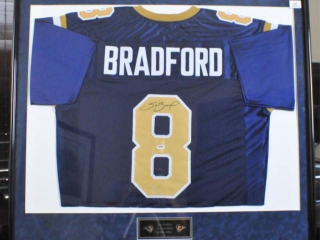 Sam Bradford Signed Rookie Jersey