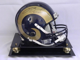 Sam Bradford St. Louis Rams Football Helmet