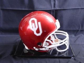 Sam Bradford; Oklahoma Football Helmet
