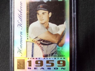 Baseball Harmon Killebrew Jersey Card