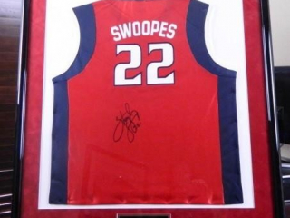 Sheryl Swoopes Jersey; Houston Comets; Signed