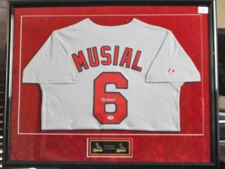 Stan Musial Signed Jersey