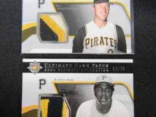 Willie Stargell & Bill Mazeroski Baseball Cards