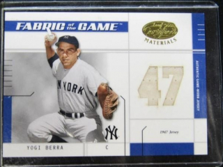 Yogi Berra Baseball Card