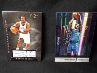 Basketball Serge Ibaka Signed Card - 2