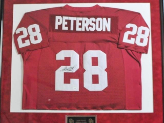 Adrian Petersen Signed Jersey