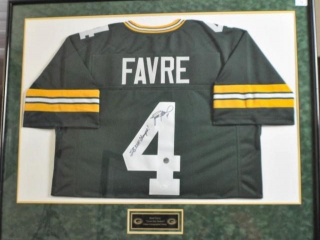 Brett Favre Signed Jersey #4
