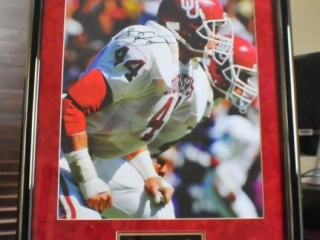 Brian Bosworth Signed Print