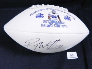 Fellowship of Christian Athletes Football; signed