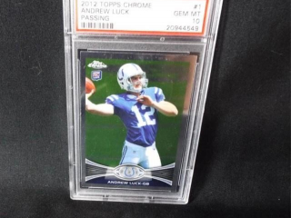 Football Andrew Luck Card
