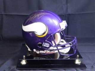 Adrian Peterson Minn. Viking Football Helmet