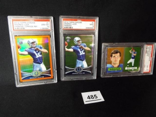 Football Andrew Luck Cards x 3