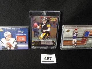 Football Bledsoe, Roethlisberger, Wayne