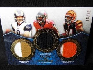 Football Bradford & McCoy & Gresham Card