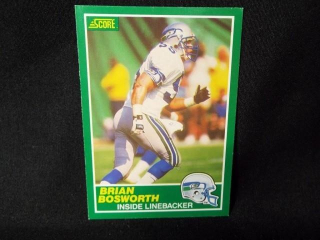 Football Brian Bosworth Card