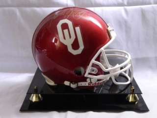 Adrian Peterson Oklahoma Football Helmet