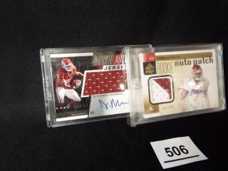 Football DeMarco Murray Cards x 2