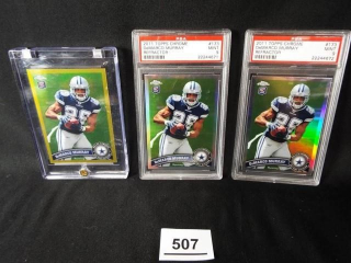 Football DeMarco Murray Cards x 3